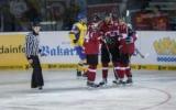 У матчі з Латвією українська «молодіжка» пропустила чотири шайби, граючи в більшості