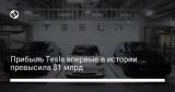 Прибыль Tesla впервые в истории превысила $1 млрд