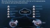 Mercedes начал сообщать водителям о ямах на дорогах
