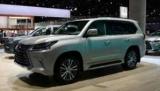 Лос-Анджелес 2017: п'ятимісний позашляховик Lexus LX 570 для американського ринку