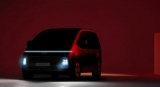 Hyundai показала тизер своего нового минивена Staria