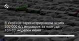 В Украине зарегистрировали около 200 000 б/у иномарок за полгода. Топ-10 моделей июня