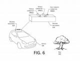Amazon запатентувала дрон для підзарядки електромобілів в русі